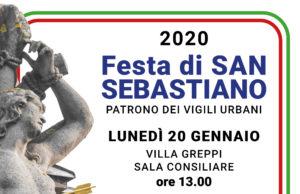 Festa di San Sebastiano, Patrono dei vigili urbani – 2020