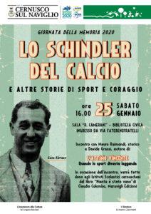 Lo Schindler del calcio e altre storie di sport e coraggio