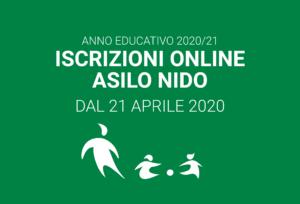 Iscrizioni Asili Nido Comunali – anno educativo 2020/21