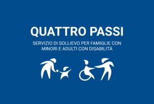 Quattro passi – attività di svago e per famiglie con minori e adulti con disabilità