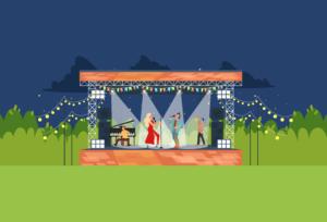Musica al parco – sotto le ali del gabbiano