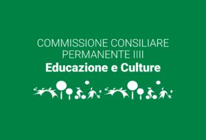 Convocazione Commissione Consiliare Permanente III – Educazione e Culture 14/10