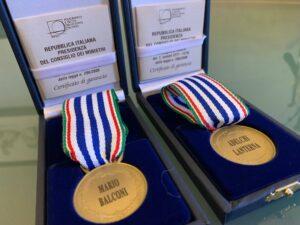 Medaglia d'Onore ai cernuschesi Mario Balconi e Adelchi Lanterna consegnate dal Sindaco nel Giorno della Memoria alle famiglie
