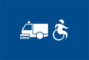 Stalli riservati ai disabili, nuove regole: in caso di sosta nel giorno di pulizia strade non incorreranno in sanzioni