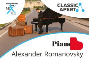 Piano B – Alexander Romanovsky tour